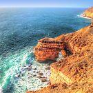 The Natural Bridge Kalbarri Western Australia  1 by Colin  Williams Photography