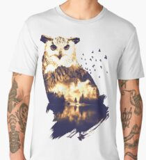 Forest Owl Men's Premium T-Shirt