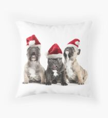 Christmas Choir Throw Pillow
