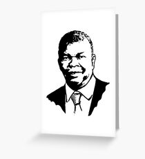 Joao Lourenco Angola Greeting Card