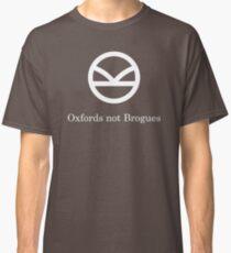 Kingsman Secret Service - Oxfords not Brogues Classic T-Shirt