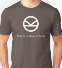 Kingsman Secret Service - Manners Maketh Man T-Shirt