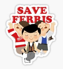 save ferris - If there were a prerequisite for the future successful digital creative, it would be the passion for discovery. Sticker