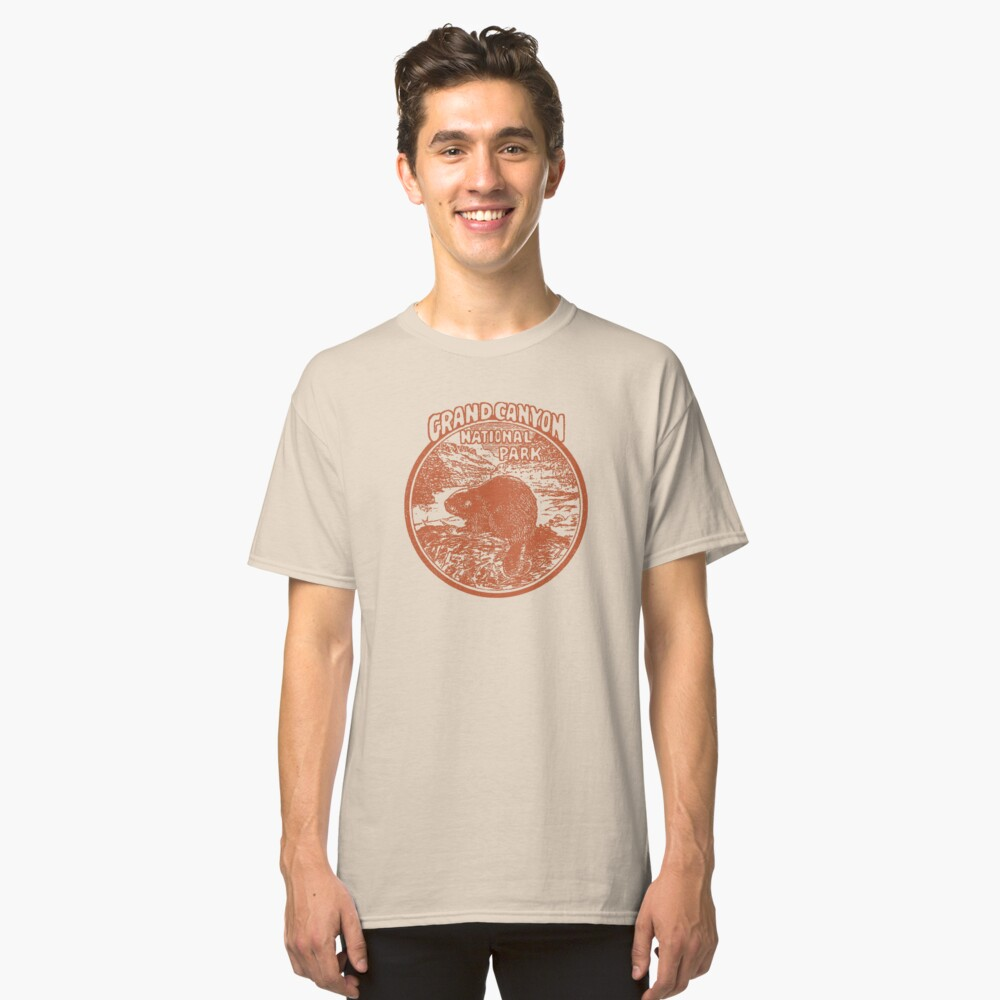 Grand Canyon Beaver National Park Arizona Vintage Classic T-Shirt Front