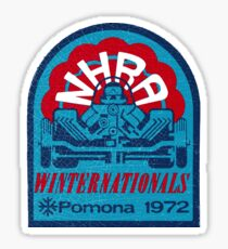 Winternationals Pomona USA 1972 Sticker