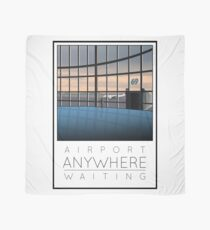 Poster Airport Waiting Scarf