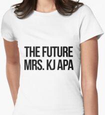The future Mrs. KJ Apa Women's Fitted T-Shirt