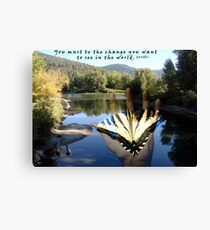 No time like the PRESENT Canvas Print