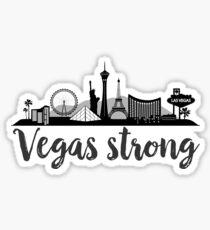 Vegas Strong / We Love Vegas 1 Sticker