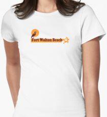 Fort Walton Beach - Florida. Womens Fitted T-Shirt