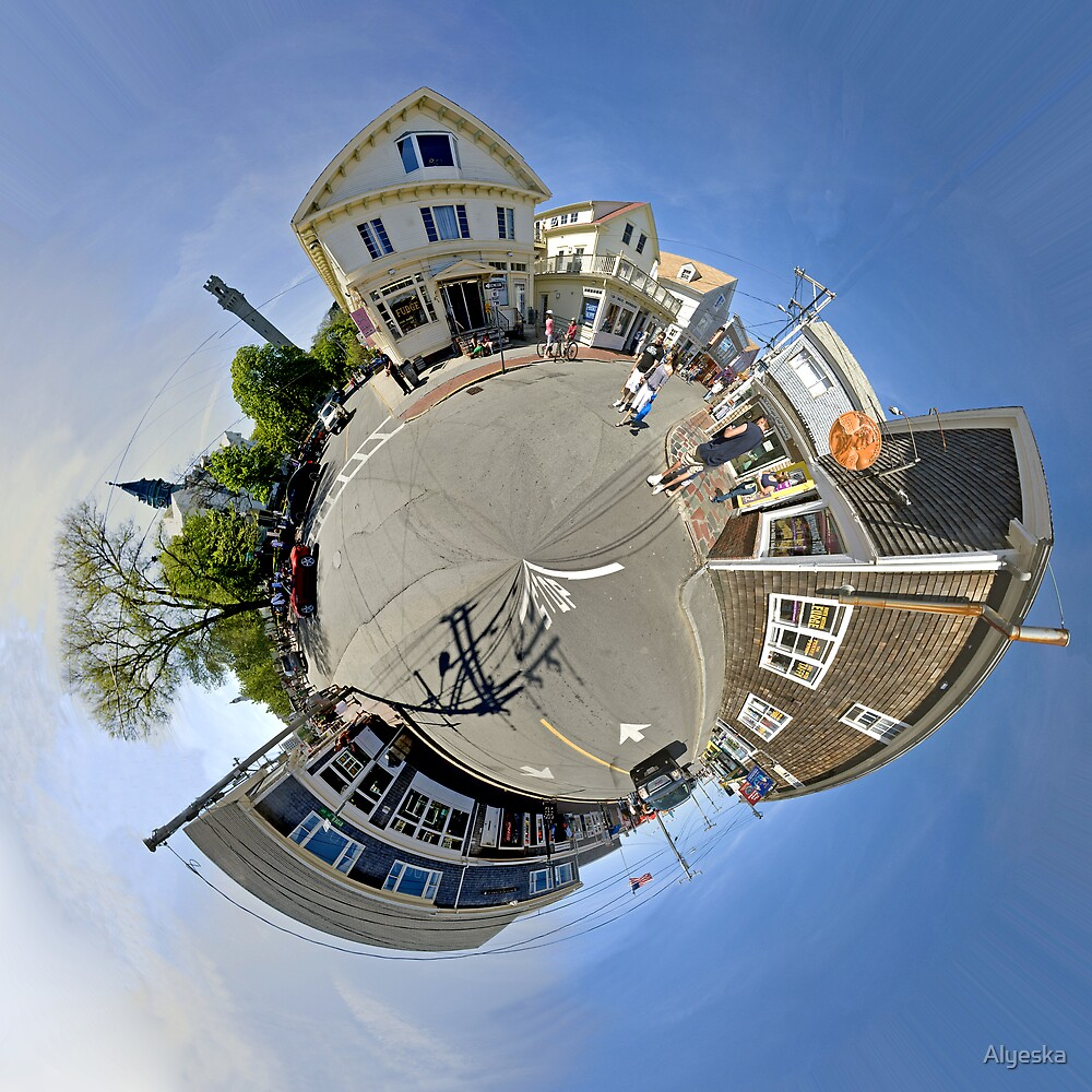 Small World of Commercial Street by Alyeska