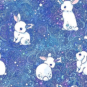 Unicorn Bunny Pattern by freeminds