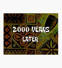 SpongeBob 2000 Years Later Photographic Print