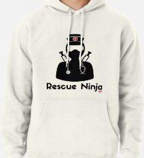 Rescue Ninja - Funny Registered Nurse Pullover Hoodie