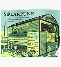 Solarpunk Infographic Poster Poster