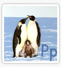 P is for Penguin Sticker