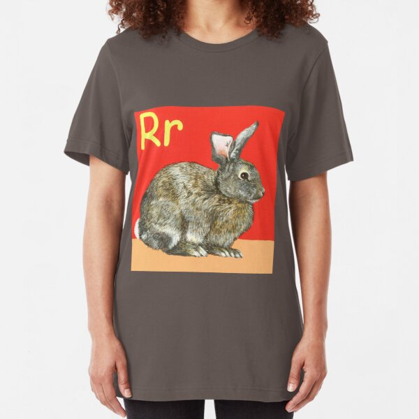 R is for Rabbit Slim Fit T-Shirt