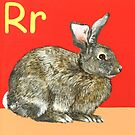 R is for Rabbit by Annie Davenport