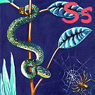 S is for Snake & Spider  by Annie Davenport
