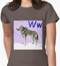 W is for Wolf  T-Shirt