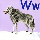 W is for Wolf  by Annie Davenport