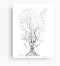 Variation on a Cayley tree Metal Print