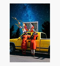 RED VELVET PEEK-A-BOO Photographic Print