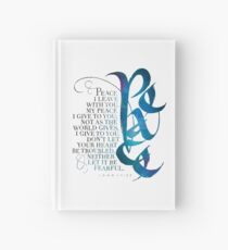 Peace I Leave With You Hardcover Journal