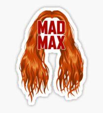Mad Max-ine  Sticker