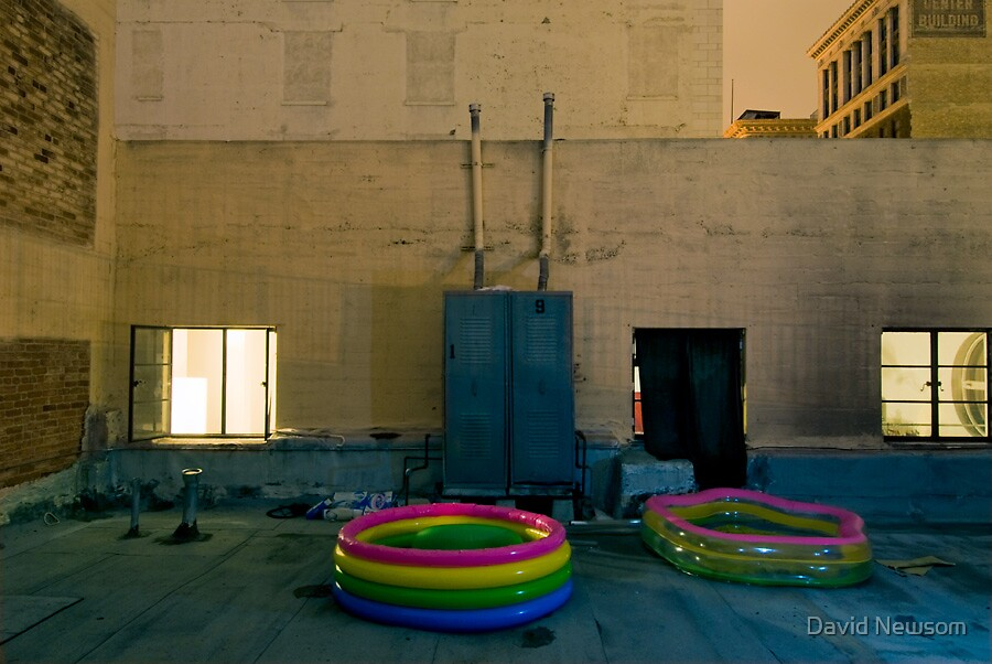 Pool Party by David Newsom