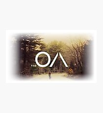 The OA American mystery drama Photographic Print