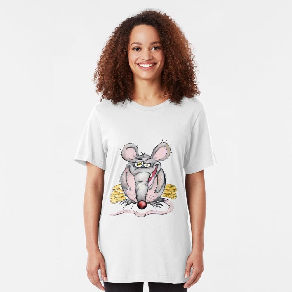 Greedy Rat Slim Fit T-Shirt