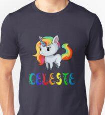 Celeste Unicorn Unisex T-Shirt