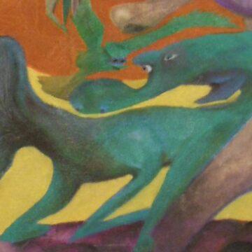 Animal Lover, Jamie B., detailMid by OILSTUDIOS