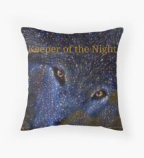 Keeper of the Night  Throw Pillow