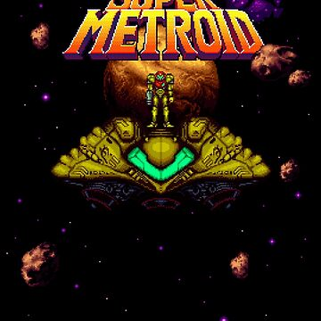 Super Metroid by SlickVic