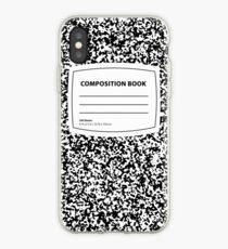 Kompositionsbuch iPhone-Hülle & Cover