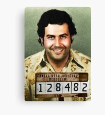PABLO ESCOBAR Canvas Print