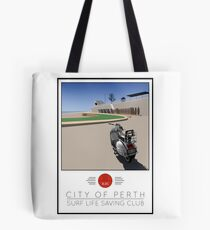 Scooter Poster Perth SLSC Tote Bag