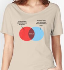 Cecilia Venn Diagram Women's Relaxed Fit T-Shirt