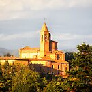 The Basilica dell'Osservanza at Golden Hour - Italy by Yannik Hay