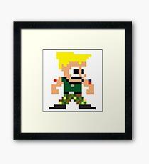 Pixel Guile Framed Print