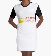 Hypodulian Church of Quaternary Graphic T-Shirt Dress