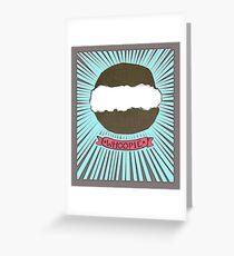 Whoopie!  Whoopie Pies on Aqua Greeting Card