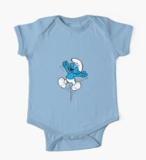 Happy Smurf Jumping Kids Clothes