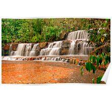 Jasper Falls, La Gran Sabana, Venezuela Poster