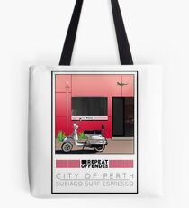 Scooter Poster Perth Subiaco Repeat Offender Tote Bag