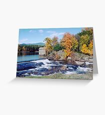 Millhouse By The Stream Greeting Card