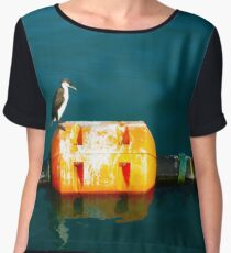 Penguin at Apollo Bay Women's Chiffon Top