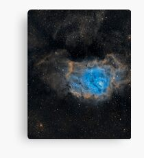 Messier 8 Lagoon Nebula Canvas Print